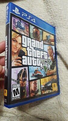 Grand Theft Auto V PS4 (Sony PlayStation 4, 2014)