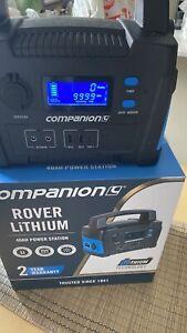 Rover Companion lithium battery