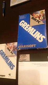 Gremlins IBM PC game