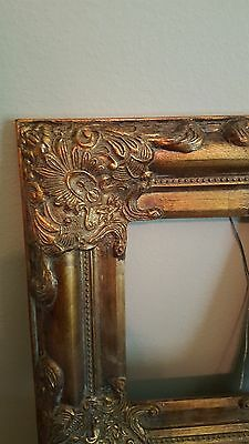 Beautiful Ornate Gold Victorian Decorative Picture Frame 8X10