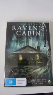 Raven Cabin, Horror Movie DVD, Monster Pictures Ascot Vale Moonee Valley Preview