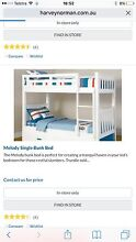 Single bunks with three drawer trundle Drewvale Brisbane South West Preview