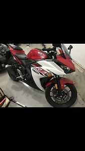 Yamaha R3 YZF brand new only 97km ~Not a single scratch ~exhaust