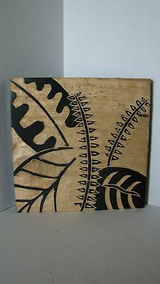 Sculptures Hand Carved Wood Wall Hanging