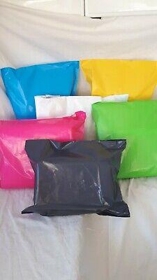 80🌻 ColourPlastic Mailing Postal Packaging Bags Self Seal Strip 10