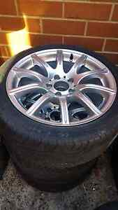 """4x Mercedes, Audi, Vw, Skoda 17"""" staggered wheels Cloverdale Belmont Area Preview"""