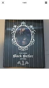 Black butler artworks brand new