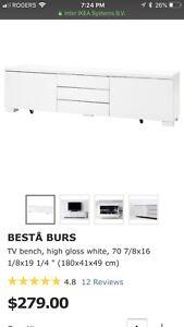 IKEA bests burs tv unit