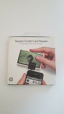 Square Credit Card Reader For Iphone Ipod Touch Or Ipad Used