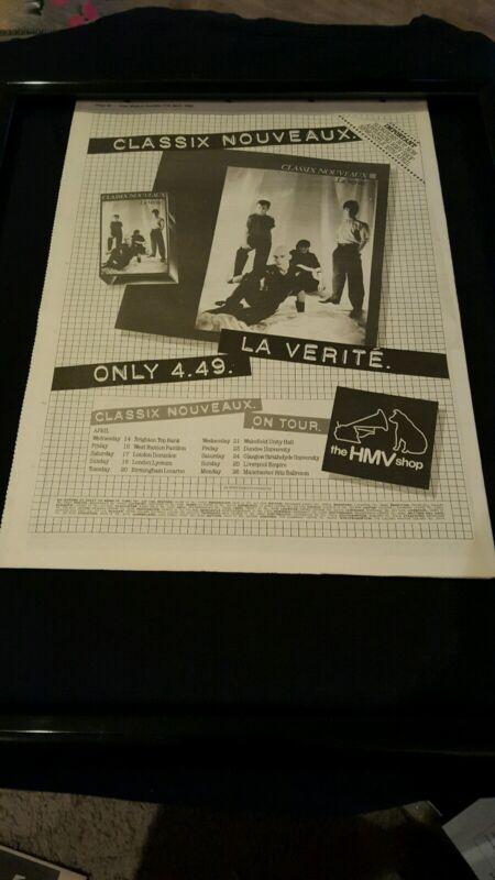 Classix Nouveaux - Magazine cover