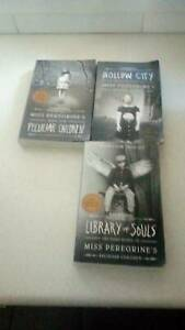 Miss Peregrines home for peculiar children three book collection