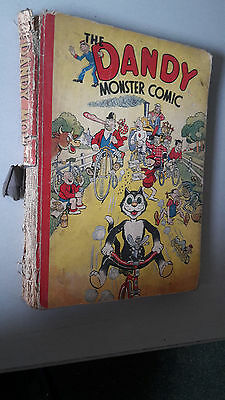 DANDY MONSTER COMIC 1943 vintage annual BUT!