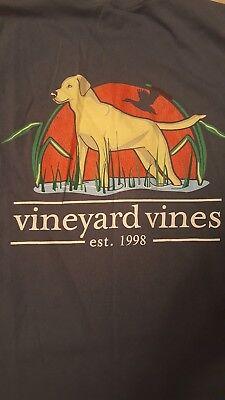 "Men's VINEYARD VINES ""Hunting Dog"" L/S Tee Shirt (MEDIUM)"