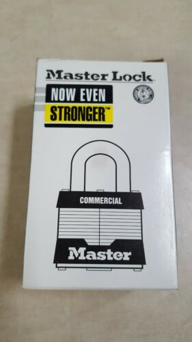 "Lot of 2 - Rekeyable Padlock, 2""W MASTER LOCK 5UP Universal Pin System Unkeyed"
