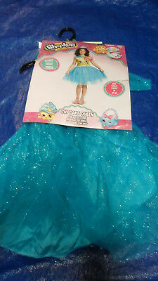Youth Size Medium 7-8 Shopkins Cupcake Queen Dress Halloween Costume BRAND NEW](Make Halloween Cupcakes)