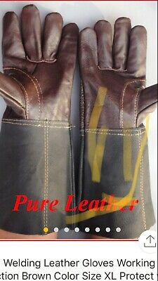 Sefety Welding Pure Leather Gloves Size Xl.