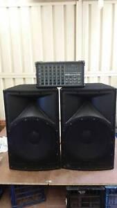 "Datamix Powered Mixer PC 6300 + 2x 18"" Speakers Acacia Gardens Blacktown Area Preview"