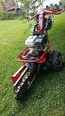 Used Barreto Trencher 712-mt Self Propelled Honda Hydraulic....used