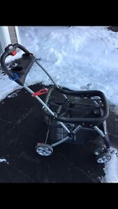 Baby stroller for car seat