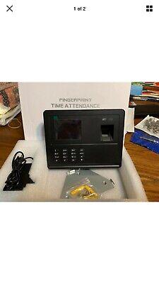 Decdeal Biometric Fingerprint Time Attendance Time Clock Model H2