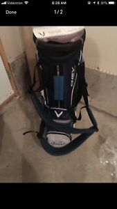 New never used callaway golf bag