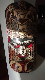 660mm high tribal mask Wellington Point Redland Area Preview