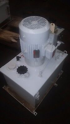 Rexroth Hydraulic Power Pump Unit Part 1-122412-02 Serial No. R013 Psi 3000