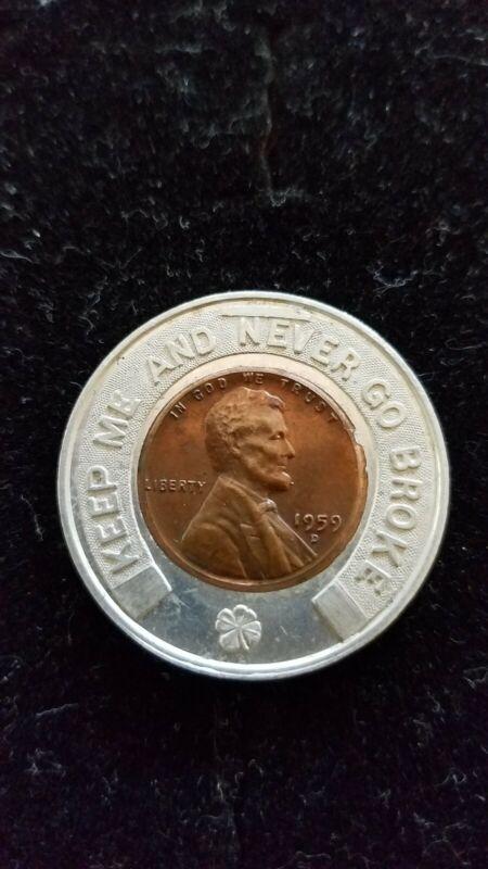 1959 D Encased Lucky Penny
