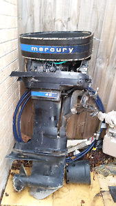 40 HP Mercury Outboard Motor  Blue Band Cranbourne Casey Area Preview