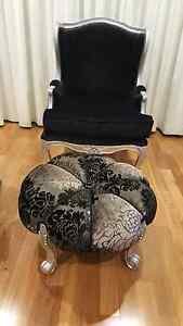 ARM CHAIR AND FOOT STOOL Brighton-le-sands Rockdale Area Preview