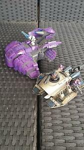 Halo Mega Blocks Covenant brute prowler and wraith Gosnells Gosnells Area Preview