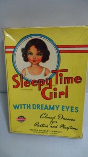 #4785 SLEEPY TIME GIRL WITH DREAMY EYES.   USED.  GOOD CONDITION  VINTAGE.