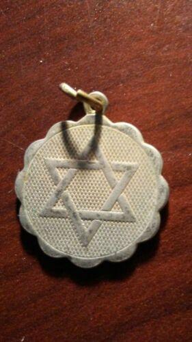 STAR OF DAVID MEDAL!   CC571XXX