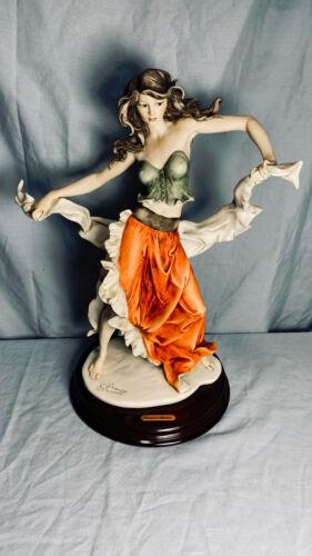 "Giuseppe Armani Figurine ""Esmeralda"" Dancing Gypsy Girl - No Box - NICE!"