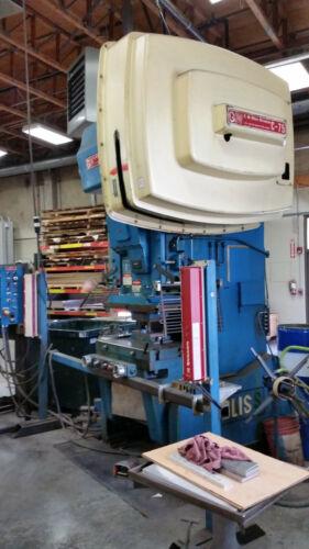 BLISS C-75 OBI PUNCH PRESS 75 TON -   SN: H68968 Sanson Northwest Machinery