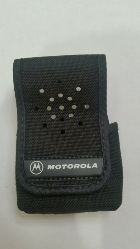 New Motorola MINITOR III / IV Nylon Pager Belt CARRY CASE OEM Part # 1562440A09