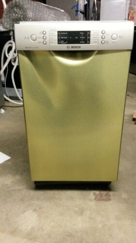 """Bosch 800 Series 18"""" Front Control Tall Tub Built-In Dishwasher with Stainless-Steel Tub Stainless Steel SPE68U55UC"""