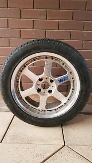 Datsun 240/260z Volk Racing Wheels, Rays Engineering 17x8 Grange Charles Sturt Area Preview