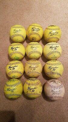 Used Tattoo Softballs