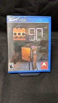 Limited Run Games #121: FACTORUM 90 Playstation Vita