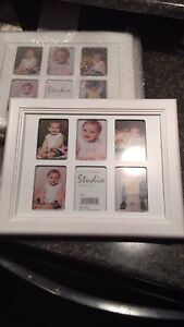 White Wood picture frames