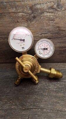 Victor Pressure Oxygen Compressed Gas Regulator Gauge - Heavy Duty -model 1235