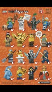 Lego Minifigures Series 15. COMPLETE SET of 16.