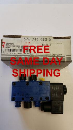 REXROTH SOLENOID VALVE 24VDC 5727450220  ITEM 743302-L4