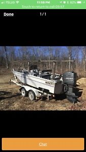 1997 MLP 19 foot centre console boat will trade for jet boat