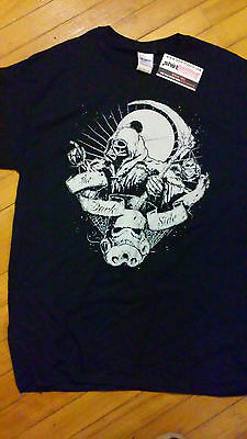 HORROR BLOCK Exclusive Shirt Punch ZOMBIE STAR WARS black T-shirt Size: L - Zombie Punch