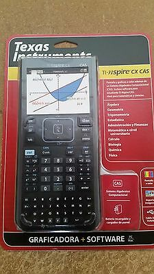 CALCULADORA Texas Instruments TI-Nspire CX CAS EN ESPAÑOL