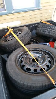 4 5x114.3 rims with tyres for sale Newcastle 2300 Newcastle Area Preview