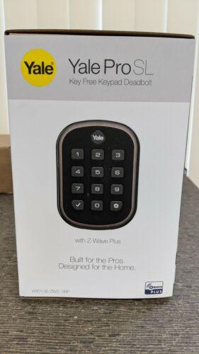 Yale ProSL Key Free Push Button Smart Deadbolt lock  (YRD136-ZW2) Z-Wave Plus