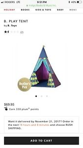 B play tent from indigo